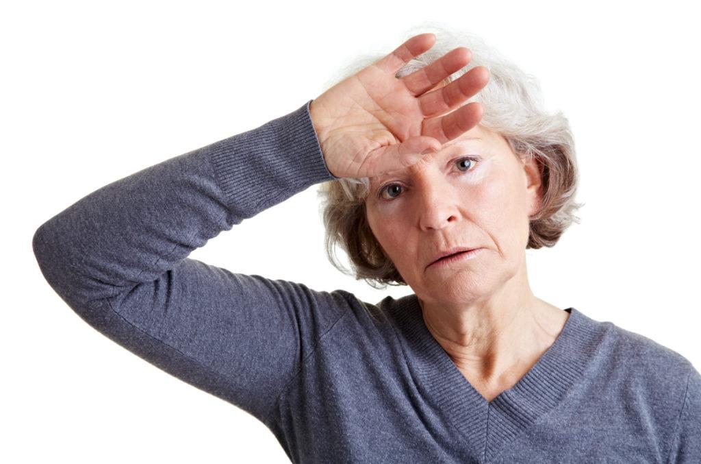 Die Menopause Alter kann einem physisch zu Schaffen machen.