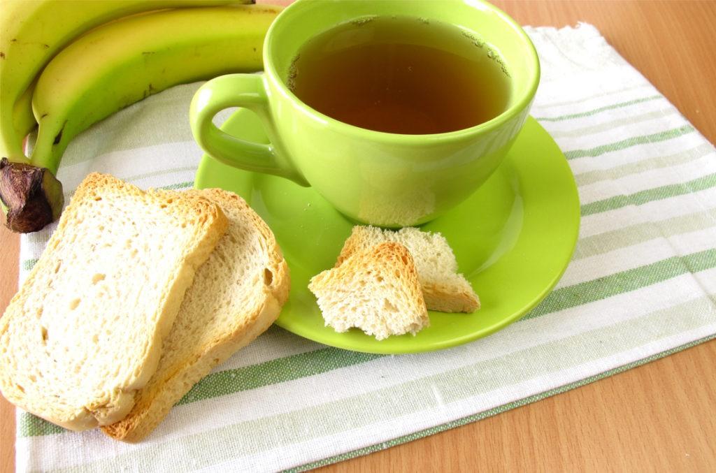 Zwieback und Tee beim Kurzdarmsyndrom