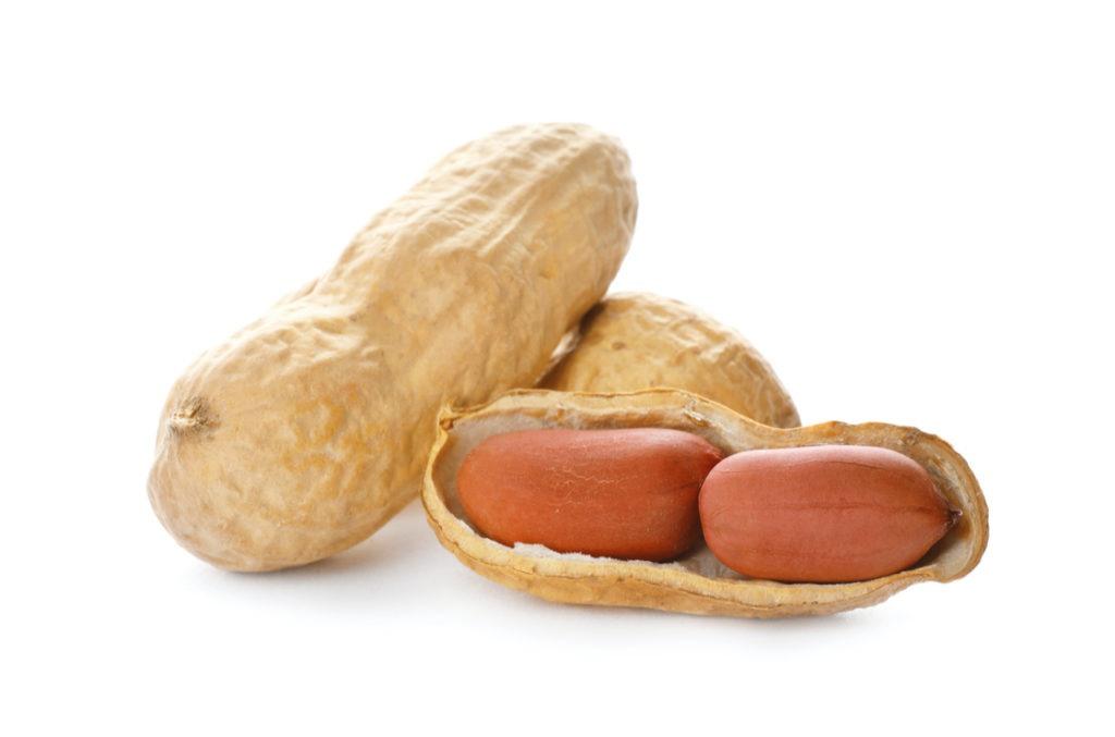 Erdnüsse - können Allergien Auslösen und Symptome verstärken.