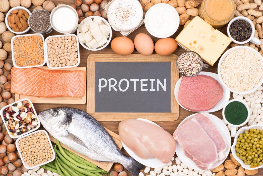 Proteinreiche Ernähung kennzeichnet den Enterotyp 1.