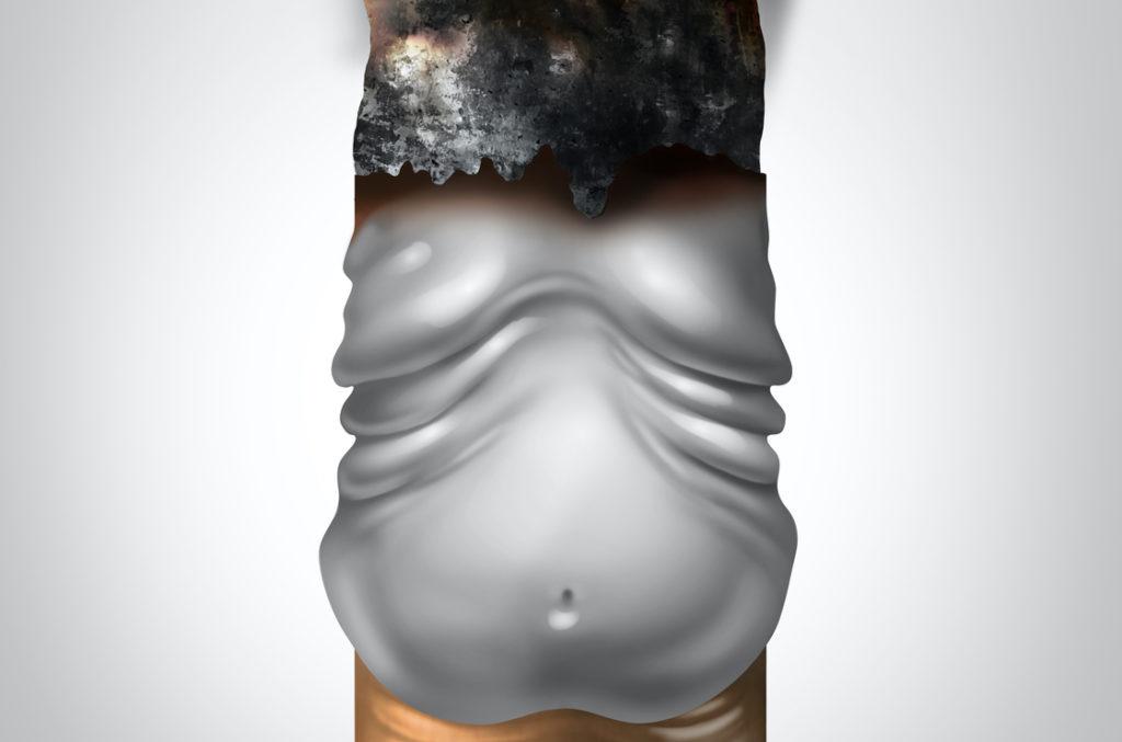 Rauchen und Gewichtszunahme