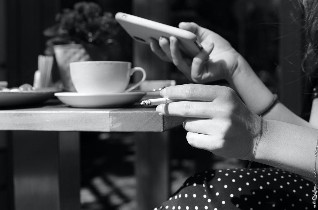 es gibt kein Gesundes Rauchen oder Rauchen, um abzunehmen