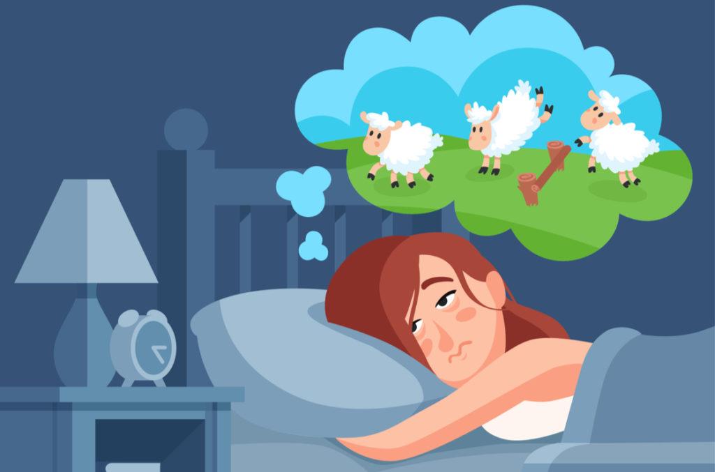 Kopfkino beim Einschlafen - was machen gegen Dyssomnie?
