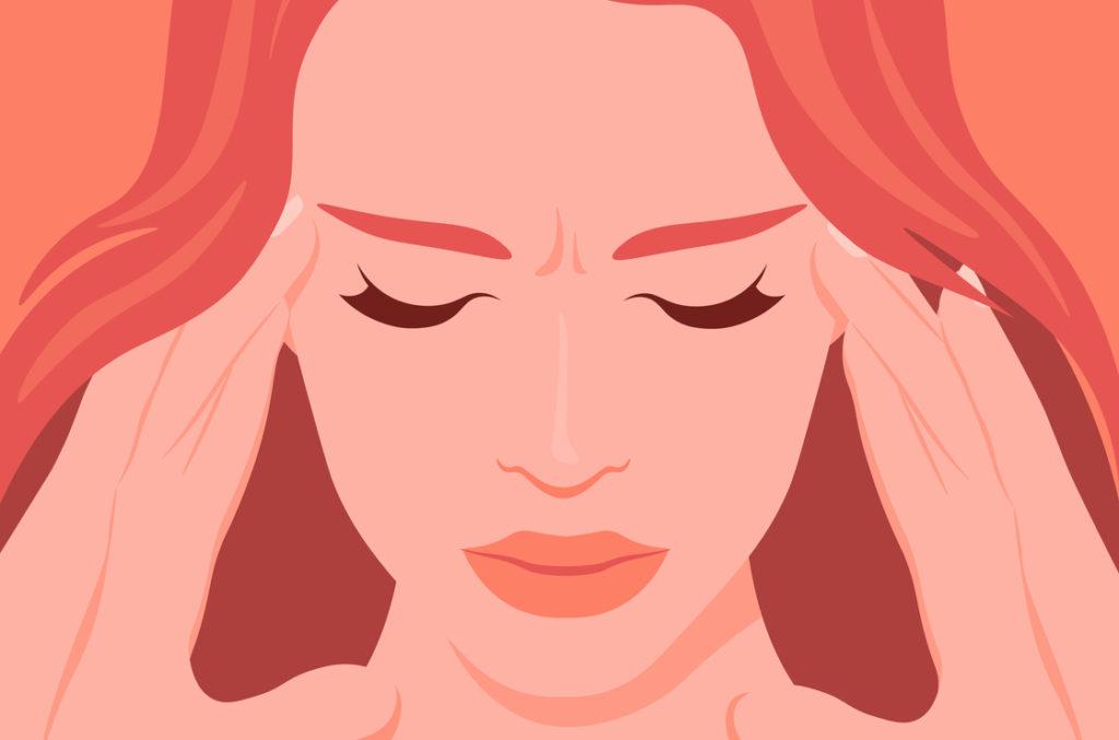 Stress ist einer der Auslöser für die Übersäuerung.